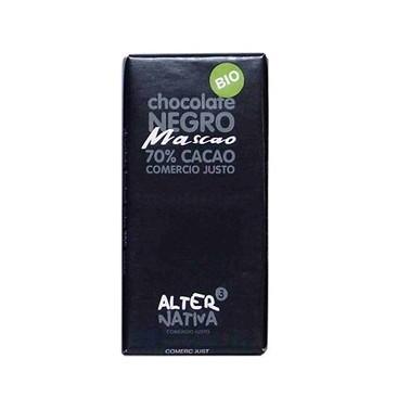 Chocolate negro 70% MASCAO Bio, 80 gr.