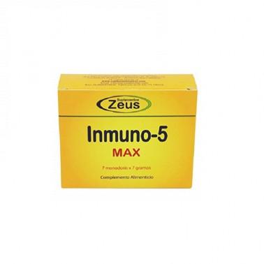 Inmuno-5 Max Zeus, 7 sobres