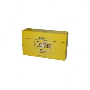 L-Carnitina 1500mg Zeus, 30 ampollas