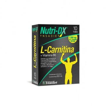 L-Carnitina 1500 mg. Nutri-DX Ynsadiet, 10 amp.