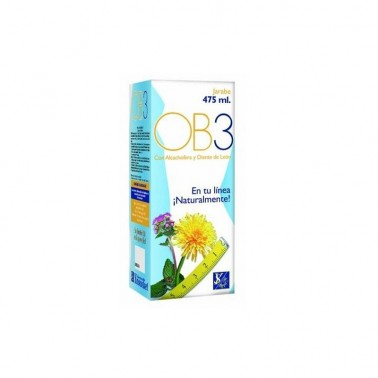 OB3 Drenante Jarabe Ynsadiet, 475 ml.