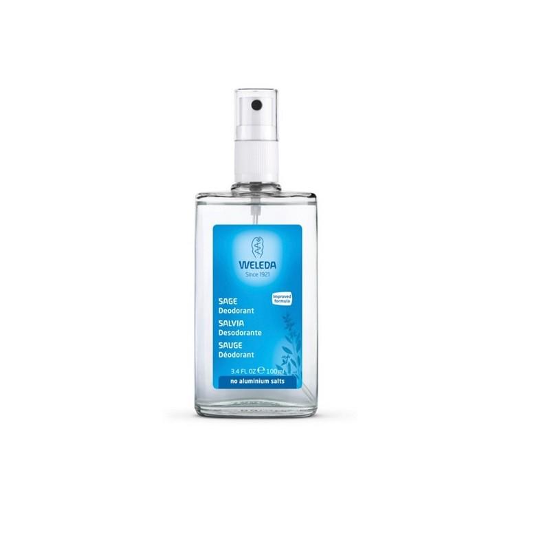 Desodorante Esencias Vegetales (Salvia) Weleda, 100 ml.
