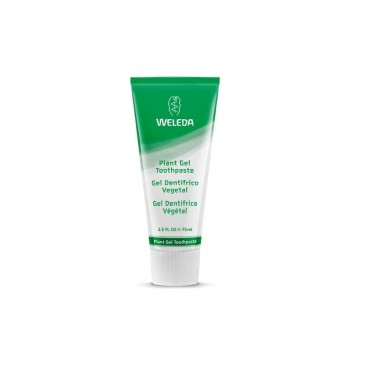 Gel dentífrico vegetal Weleda, 75 ml.