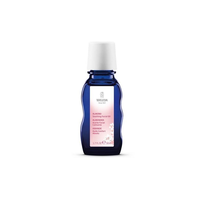 Weleda Aceite facial armonizante de almendras, 50 ml.