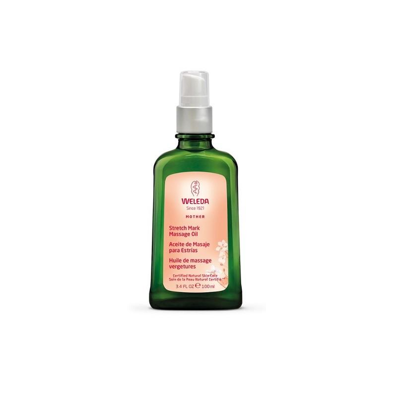 Weleda Aceite para masaje Antiestrías, 100 ml.