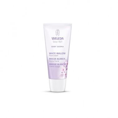 Weleda Crema Facial Malva Blanca Bebé-Derma, 50 ml.