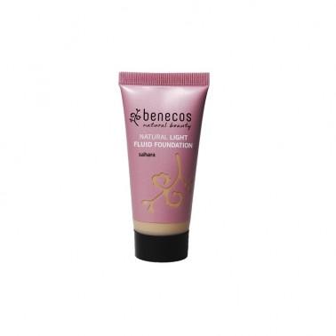 Benecos Maquillaje Natural Fluido Sahara, 30 ml.
