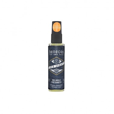 Benecos for men only Desodorante Spray, 75 ml.