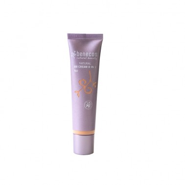 Benecos BB Cream Fair (Claro) 8 en 1 BIO, 20 ml.