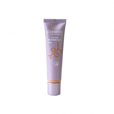 Benecos BB Cream Beige 8 en 1 BIO, 20 ml.