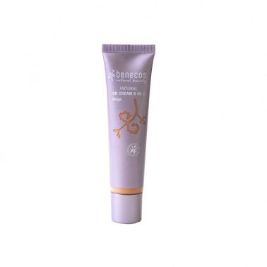 Benecos BB Cream Beige 8 en 1 BIO, 20 ml.