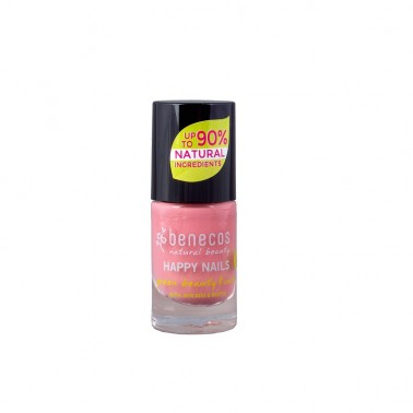 Benecos Laca de uñas Bubble Gum, 5 ml.