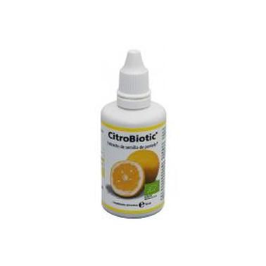 Citrobiotic extracto de semilla pomelo Sanitas, 50 ml.