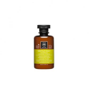 APIVITA Champú suave de uso diario, 250 ml.