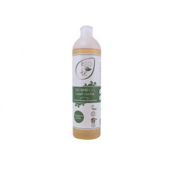 Champú BIO con extracto de Semillas de Lino Bioconte, 500 ml.