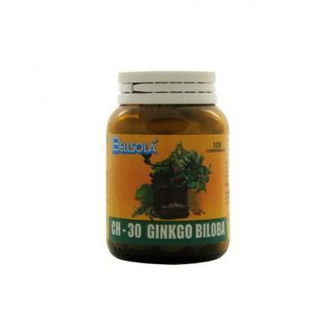 Ginkgo Biloba Bellsola CH30, 100 comp.
