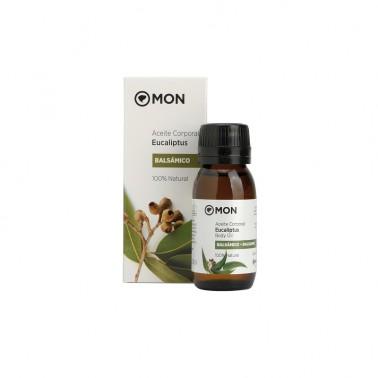 Aceite corporal de Eucaliptus Mon, 60 ml.