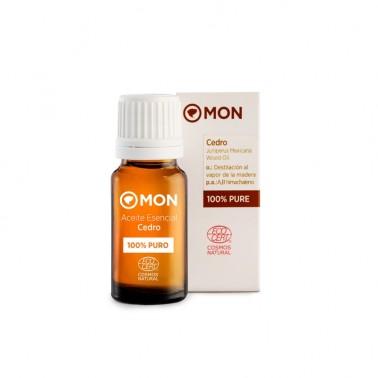 Aceite Esencial Cedro Eco Mon, 12 ml.