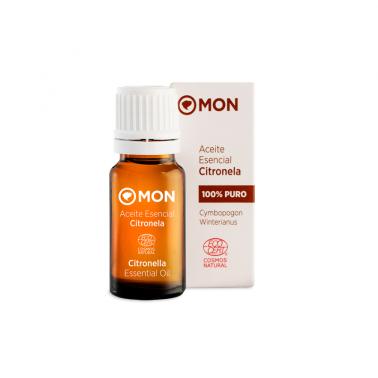 Aceite Esencial Citronela Eco Mon, 12 ml.