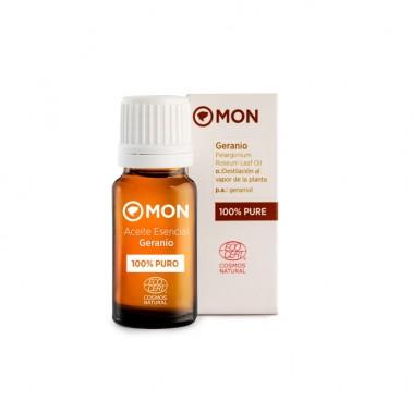 Aceite Esencial Geranio Eco Mon, 12 ml.