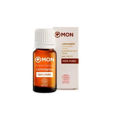 Aceite Esencial Lemongrass Eco Mon, 12 ml.