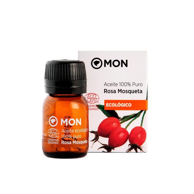 Aceite Puro de Rosa Mosqueta Ecológico Mon, 30 ml.