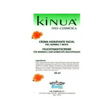 Crema Hidratante piel normal 50 ml. KINUA