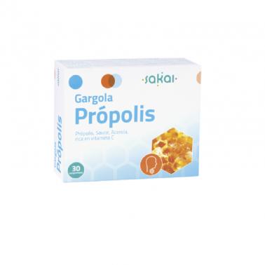 Gargola Propolis Sakai, 30 comp. masticables