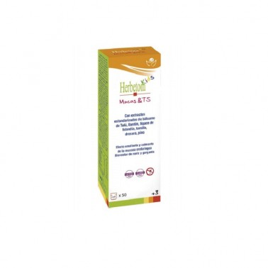 Herbetom Kids Mucos TS Bioserum,  250 ml.