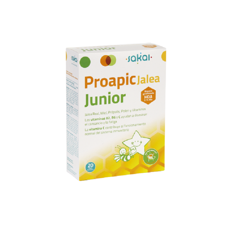 Proapi Jalea Real Infantil Junior Sakai, 20 amp.
