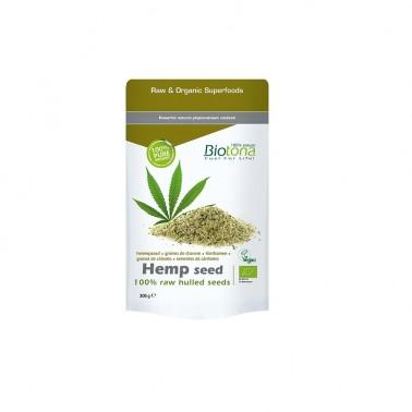 Biotona Hemp Seed Cáñamo semillas BIO, 300 gr.