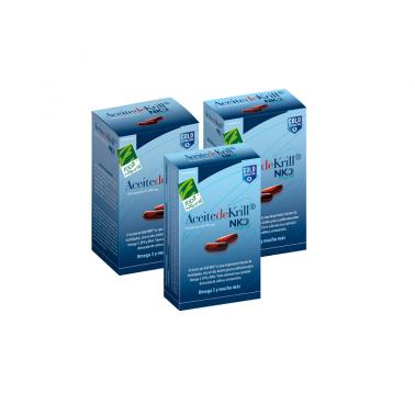 Aceite de Krill NKO Cien por Cien Natural 40 cap.