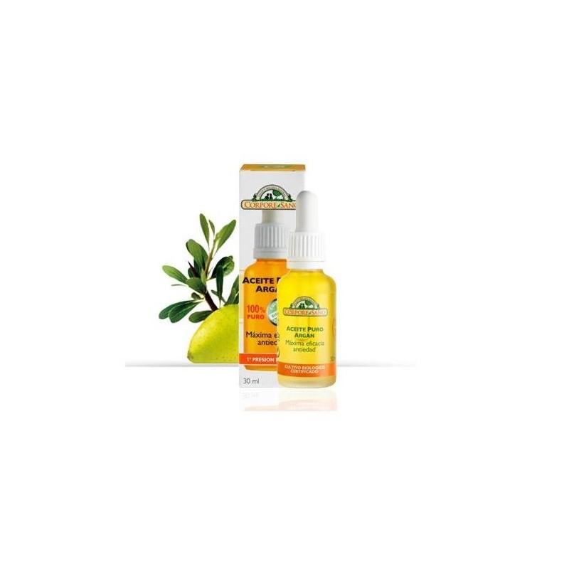 Aceite de Argan BIO 100% Puro Corpore Sano, 30 ml.