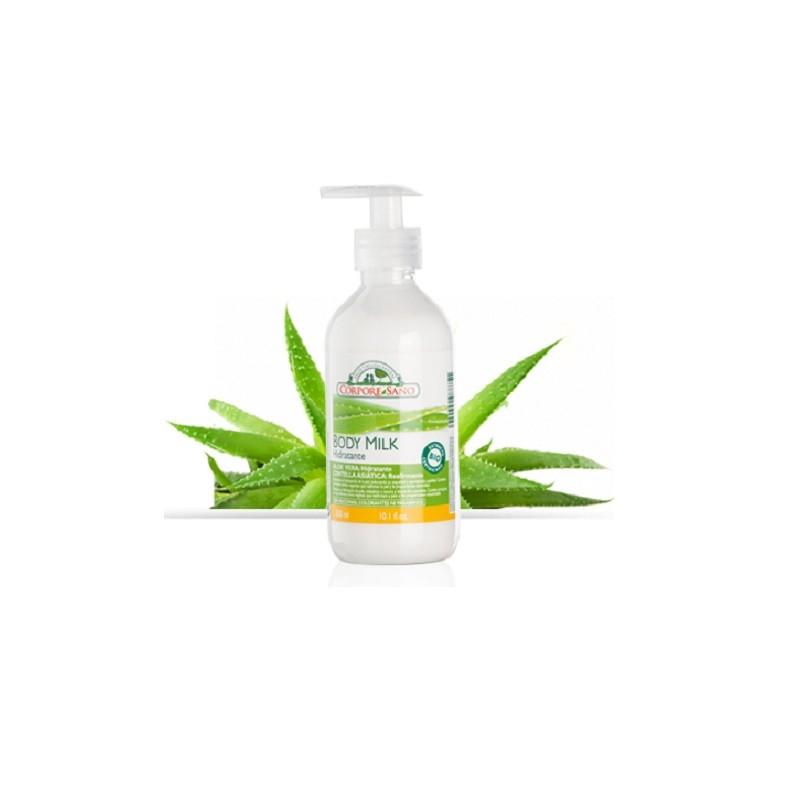 Body milk Aloe y Centella Asiática Corpore Sano, 300 ml.
