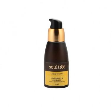 Contorno de ojos granada y almendras SoulTree, 40 ml.