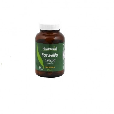 Boswelia Health Aid ext. estand., 60 cap.