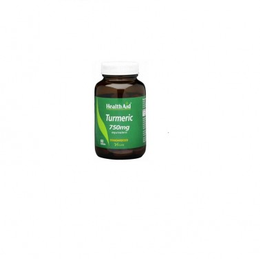 Curcuma raiz (turmeric) Health Aid, 60 comp.