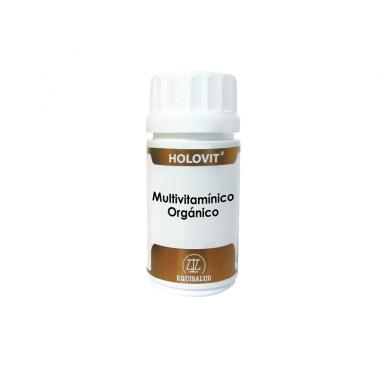 Holovit Multivitaminico Orgánico Equisalud, 50 cap.