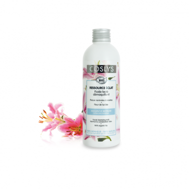 Leche desmaquillante Piel normal y mixta Coslys, 200 ml.