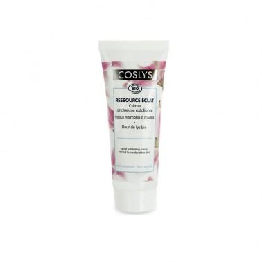 Crema exfoliante facial Piel normal y mixta Coslys, 75 ml.