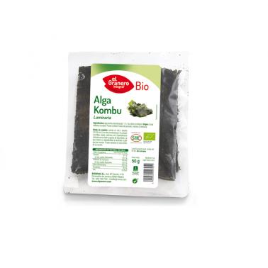 El Granero Alga Kombu BIO, 50 gr.