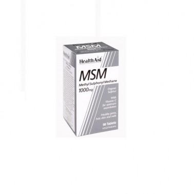 MSM Health Aid metilsulfonilmetano 1000 mg., 90 comp.