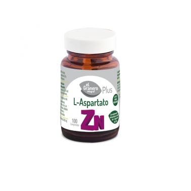 El Granero L-Aspartato de Zinc, 100 comp.