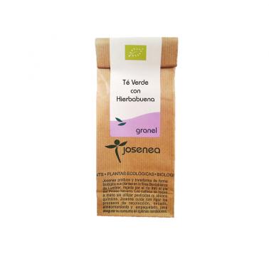Josenea Té verde con hierbabuena BIO, granel bolsa 50 grs.
