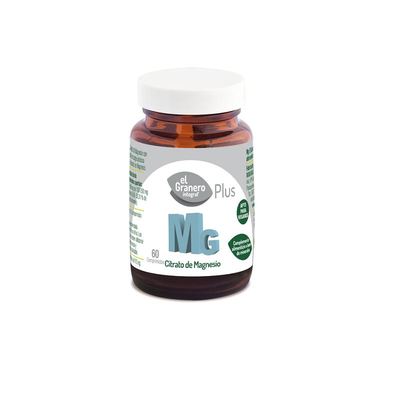 El Granero Mg 500 (Citrato de Magnesio), 60 comp.