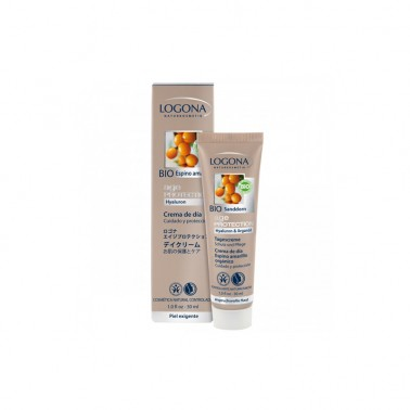 Age Protection crema de dia Bio Logona, 30 ml