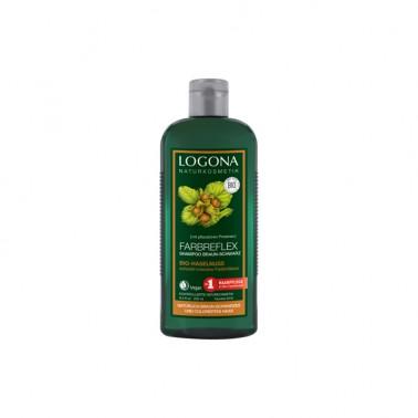 Champú reflejos castaños Bio Logona, 250 ml