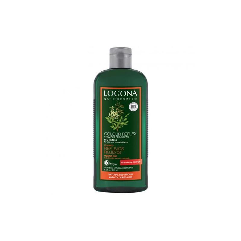 Champú reflejos rojizos Bio Logona, 250 ml
