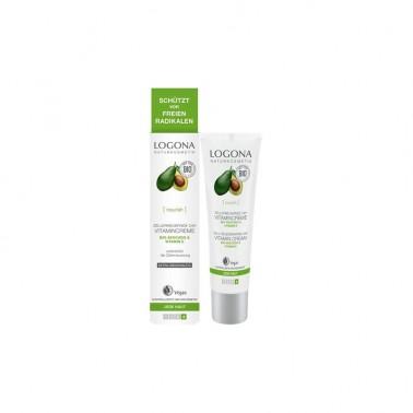 Crema vitamínica 24h aguacate Bio Logona, 30 ml