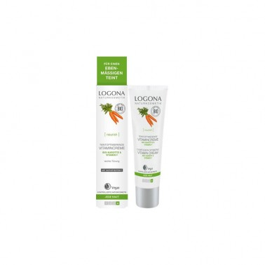 Crema vitamínica zanahoria Bio Logona, 30 ml